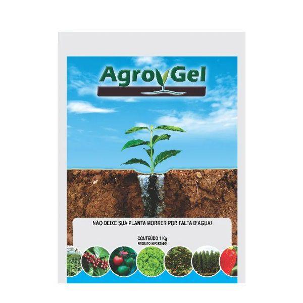 Gel Para Plantio Condicionador De Solo Agrogel Hidrogel 1Kg