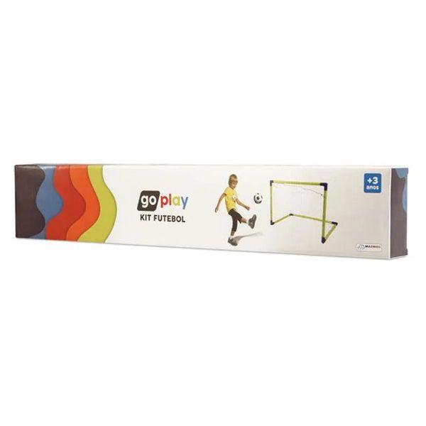 Go Play Kit Futebol Com Bola Trave de Gol e Bomba Multikids - BR952  - Casafaz