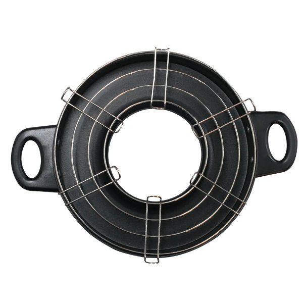 Grelha Compacta Churrasqueira De Fogão Home Grill Nautika  - Casafaz