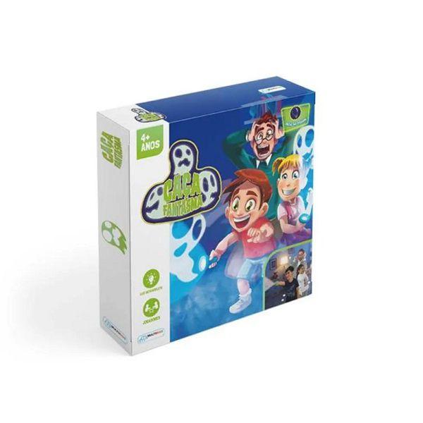 Jogo Caça Fantasmas Para 2 Jogadores Com 2 Lanternas Multikids - BR410