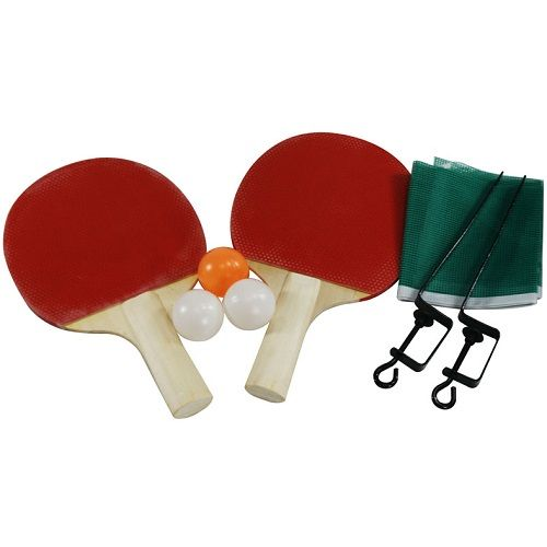 Kit Para Jogo De Tênis de Mesa Ping-Pong Completo Com 8 Peças KP-8 Western