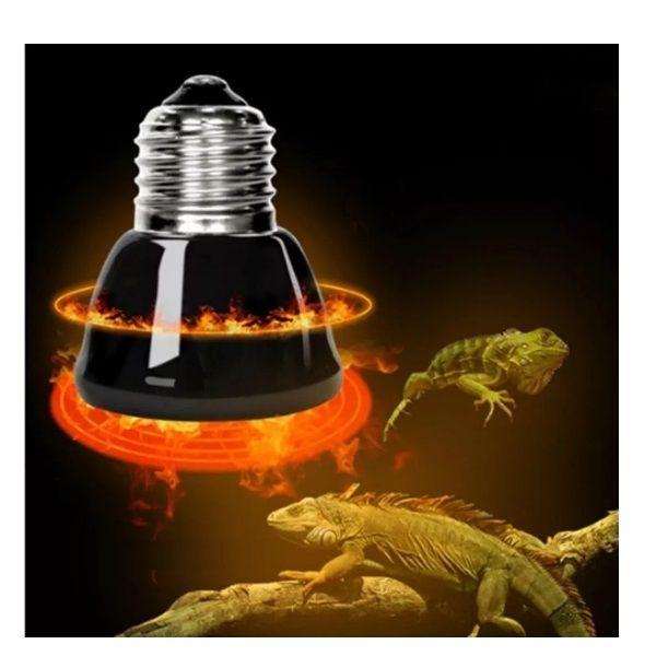 Lâmpada De Aquecimento Terrário 110V Répteis Chocadeira Tartaruga   - Casafaz
