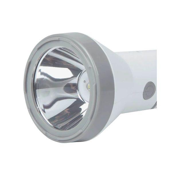 Lanterna Luminária 140 Lúmens Branca Recarregável Bivolt Mor  - Casafaz