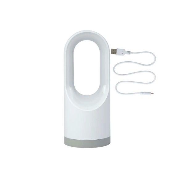 Lanterna Luminária 160 Lúmens Branca Recarregável Bivolt Mor  - Casafaz