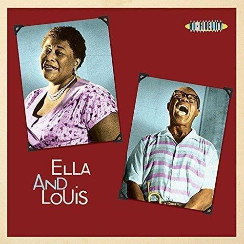 Lp Ella Fitzgerald Louis Armstrong Ella And Louis Imp  - Casafaz
