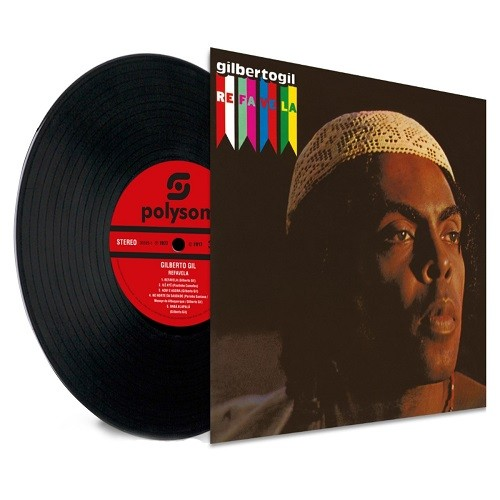 Lp Gilberto Gil Refavela 180gr   - Casafaz
