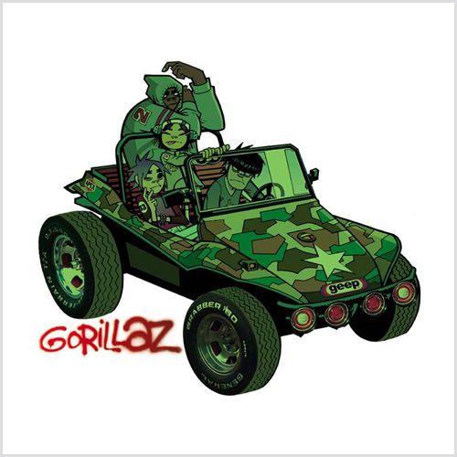 Lp Gorillaz Gorillaz 180g Duplo 2001