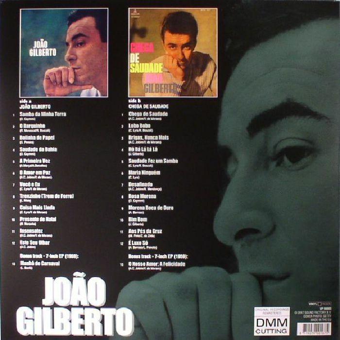 Lp João Gilberto e Chega De Saudade Two Albuns 180g  - Casafaz