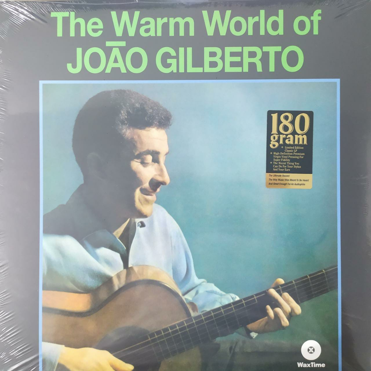 Lp João Gilberto The Warm World Of Novo Lacrado 180g  - Casafaz