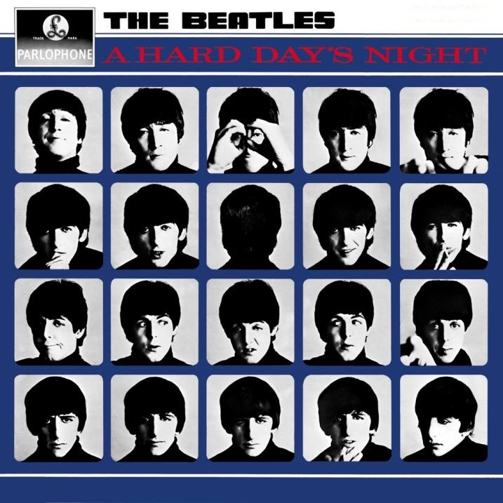 LP The Beatles A Hard Days Night 180g