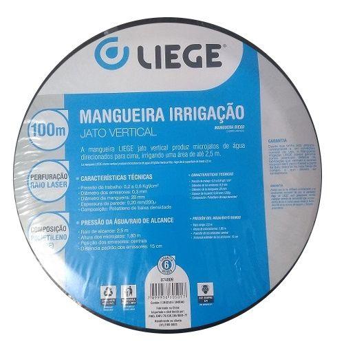 Mangueira Irrigação Jato Vertical 100 Metros Liege  - Casafaz