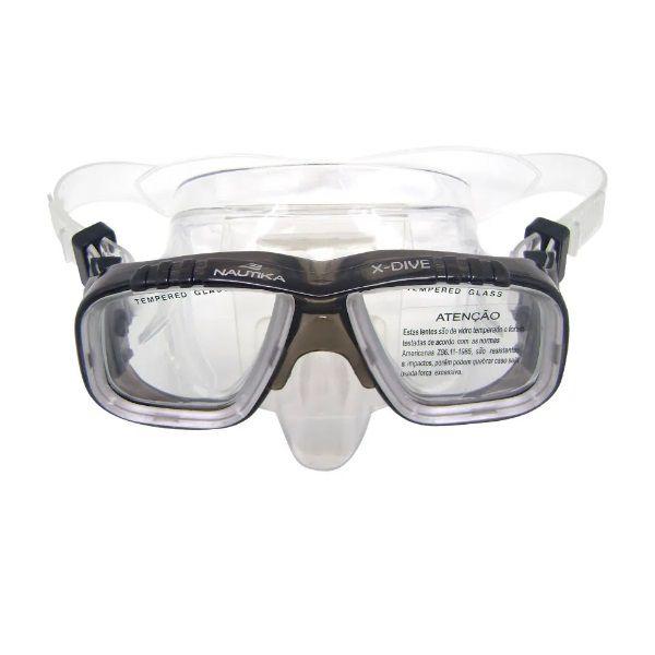 Máscara De Mergulho X-Dive Nautika  - Casafaz
