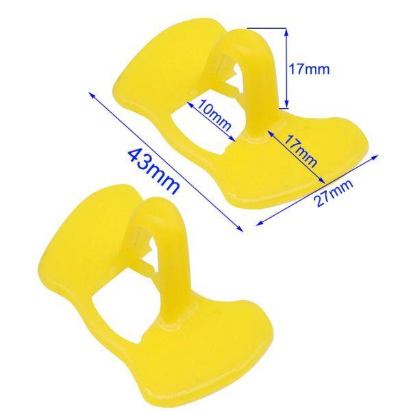 Óculos Anti Bicagem Para Galinha 20 Unidades   - Casafaz