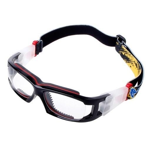 Óculos BangLong De Futebol Basquete Preto/Vermelho + Case