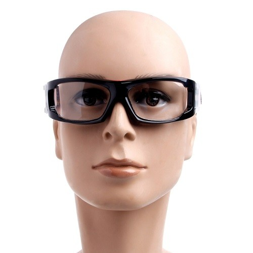 Óculos BangLong De Futebol Basquete Preto/Vermelho + Case   - Casafaz