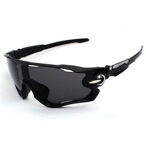 Óculos Ciclismo Bike MTB 9270 Esportes Uv 400 Preto + Case