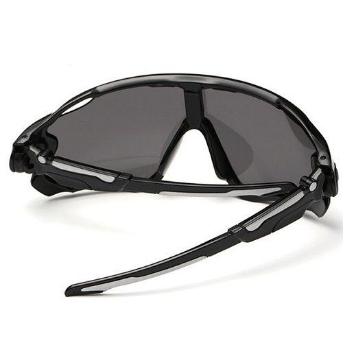 Óculos Ciclismo Bike MTB 9270 Esportes Uv 400 Preto  - Casafaz