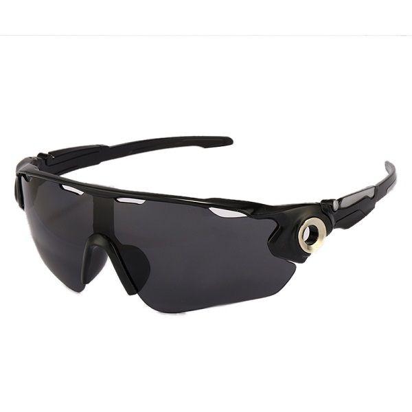 Óculos Ciclismo Bike MTB 9271 Esportes Uv 400 Preto + Case