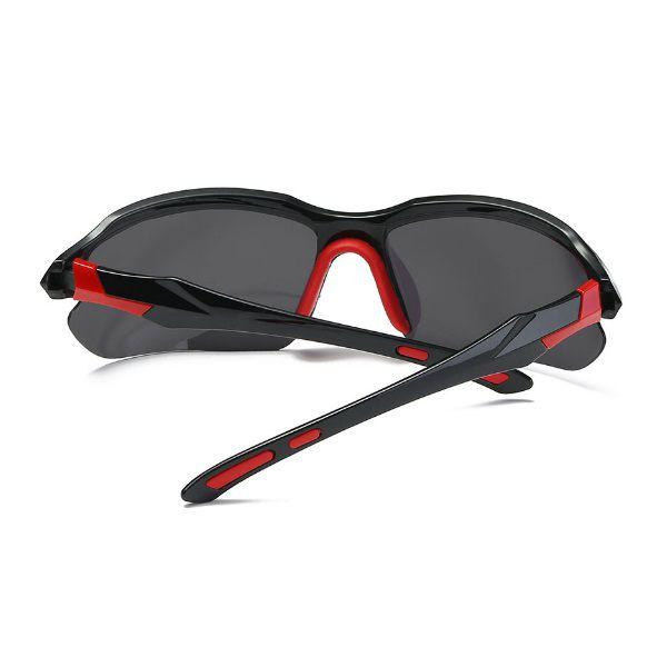 cf0a04d76 ... Óculos Ciclismo Bike MTB 9301 Esportes Polarizado Uv400 Preto/Vermelho  + Case - Casafaz ...