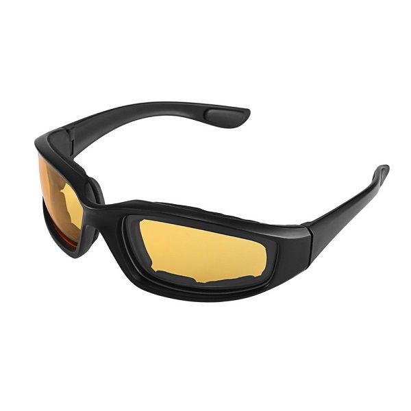 Óculos Ciclismo Bike MTB ZH1115402 Esportes Uv 400 Amarelo + Case