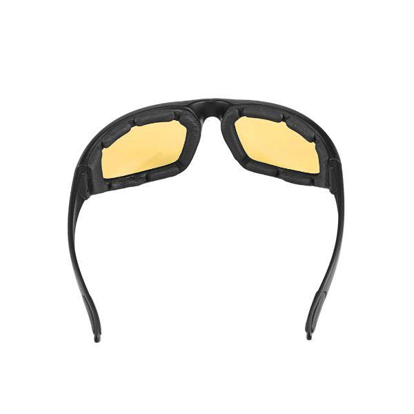 Óculos Ciclismo Bike MTB ZH1115402 Esportes Uv 400 Amarelo + Case  - Casafaz