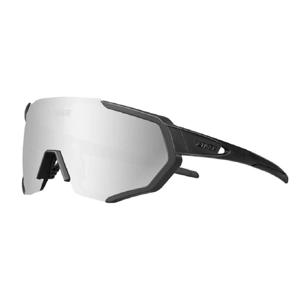 Óculos Ciclismo Polarizado X-Tiger 3 Lentes + Clip Para Grau