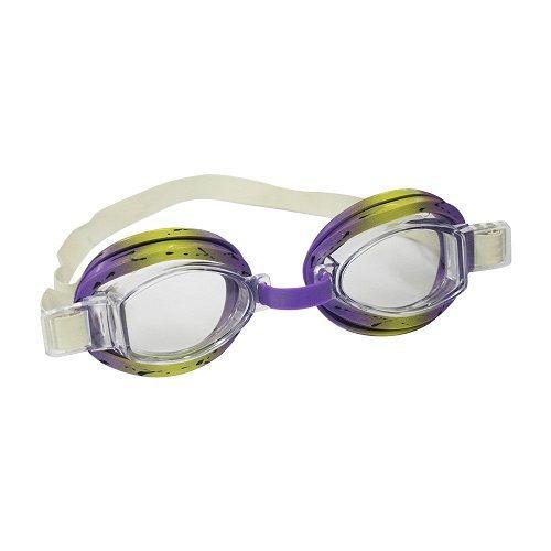 Óculos de Natação Split Infantil Nautika Roxo e Amarelo  - Casafaz