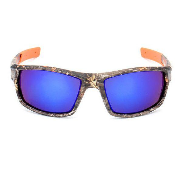 Óculos de Sol Polarizado Camuflado Uv Fs Yuri Yuan + Case  - Casafaz