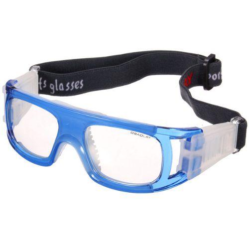 Óculos Eyki De Futebol Basquete Azul Quad + Case