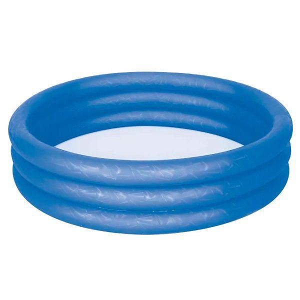 Piscina Banheira Inflável 130 Litros Azul Mor