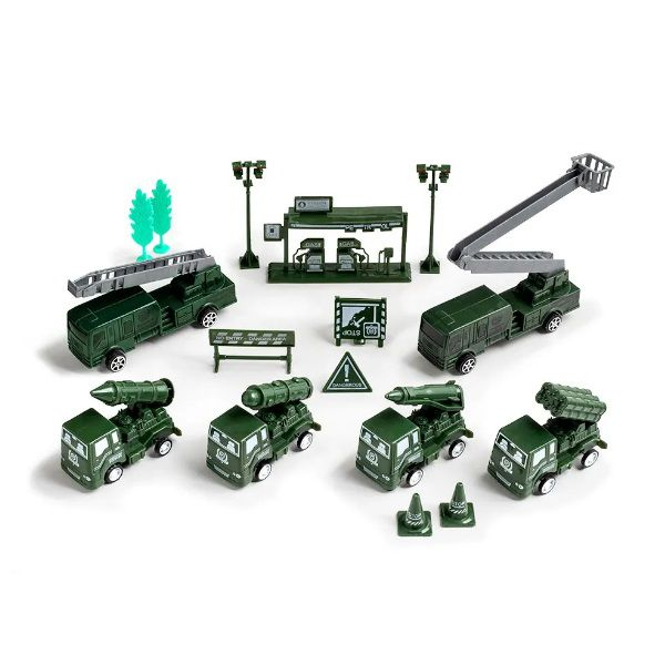 Play Machine Exército Forças Armadas Verde Multikids - BR973  - Casafaz