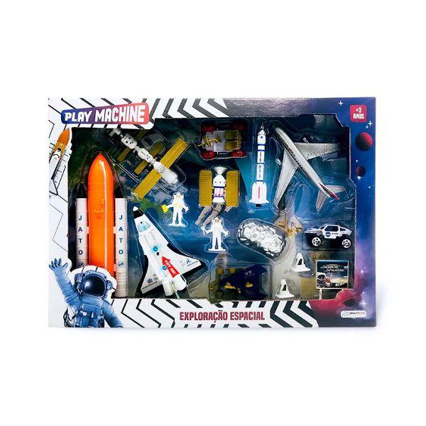 Play Machine Exploração Espacial Com Acessórios Multikids - BR1037