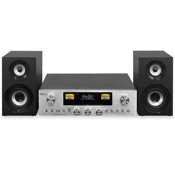 Receiver Com Gravador Raveo 80W FM CD USB e Bluetooth RR-1000