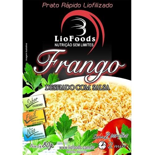 Refeição Liofilizada Frango Desfiado Com Salsa Liofoods 80g