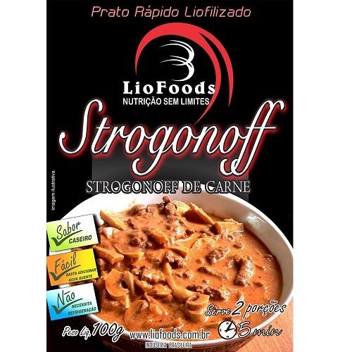 Refeição Liofilizada Strogonoff de Carne Liofoods 100g