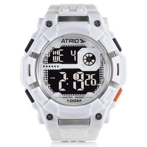 Relógio Masculino Nickel Atrio Branco ES101
