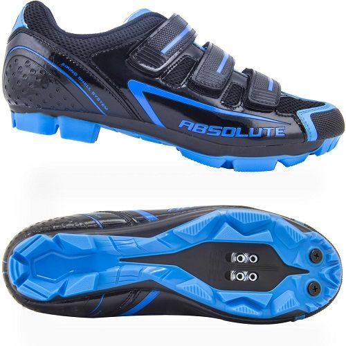 Sapatilha Ciclismo Bike Mtb Nero Absolute Preto/Azul