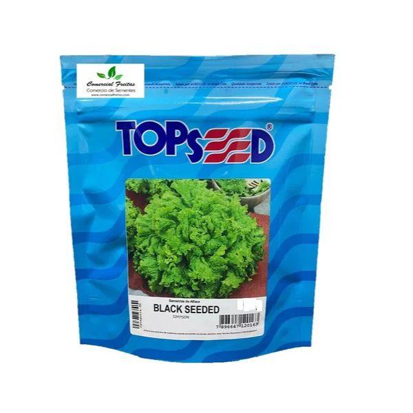 Semente Alface Black Seeded Topseed 50g