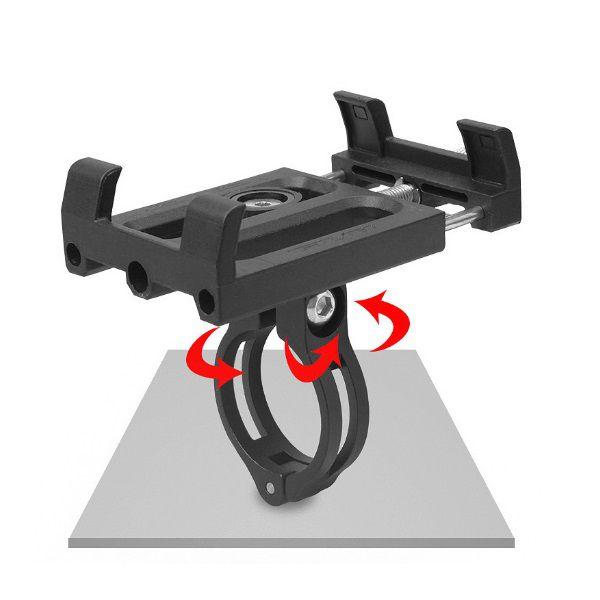 Suporte Para Celular de Bike e Moto GUB PLUS 3   - Casafaz