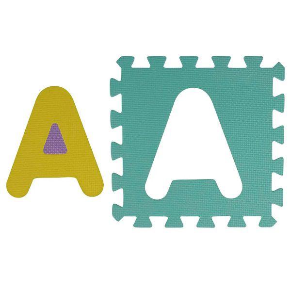 Tapete De Atividades Em EVA Alfabeto 26 Peças Mor  - Casafaz
