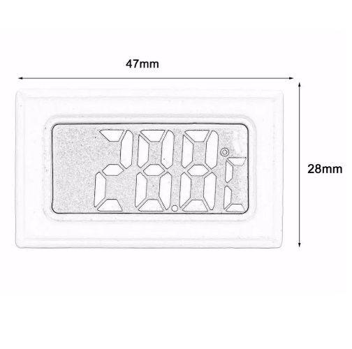 Termômetro Digital Freezer Geladeira Aquário Chocadeira  - Casafaz