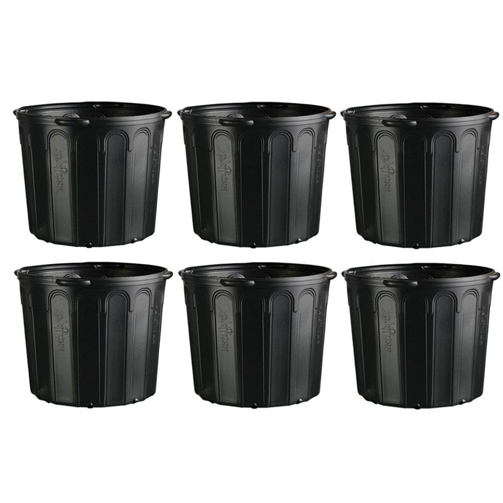 Vaso Embalagem Para Mudas Com Alça 25 Litros Nutriplan 06 Unidades