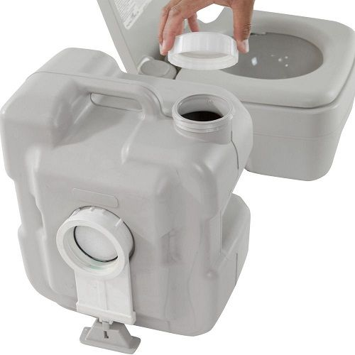 Vaso Sanitário Portátil Banheiro Químico Ecocamp 20 Litros Nautika  - Casafaz