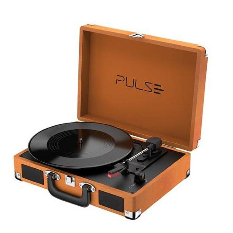 Vitrola Toca Discos Berry Suitcase Turntable SP364  - Casafaz