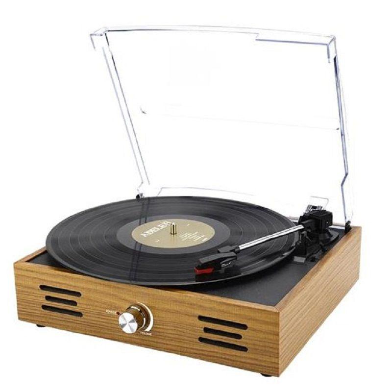 Vitrola Toca Discos Perkins Turntable SP365  - Casafaz