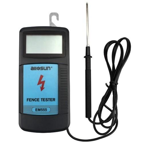 Voltímetro Digital EM555 Teste Cerca Elétrica All-Sun