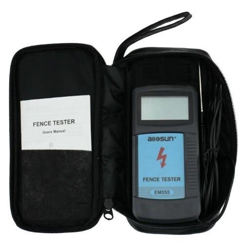 Voltímetro Digital EM555 Teste Cerca Elétrica All-Sun   - Casafaz