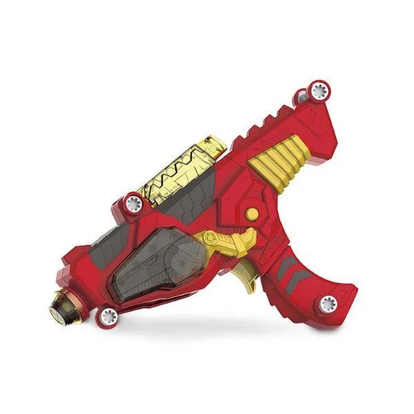 X Changers Junior Dino Rex 3 em 1 Emite Luz e Som Vermelho Multikids - BR891  - Casafaz