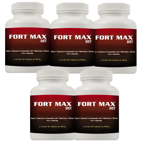 Fort Max Diet - Promo��o 5 Unidades
