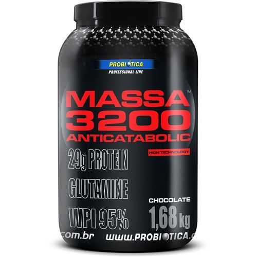 Massa 3200 Anti-Catabolic - 1,68Kg - Probi�tica